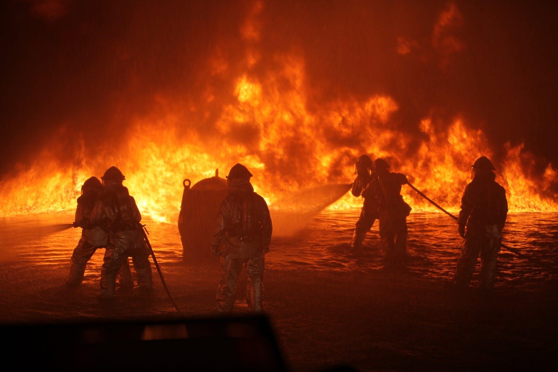 backlit breathing apparatus danger dangerous